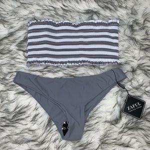 Zaful gray bikini